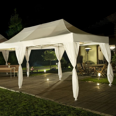 Printed or garden pop-up tents